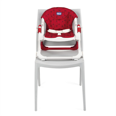 BNIB Chicco foldable chairy booster seat in ladybug