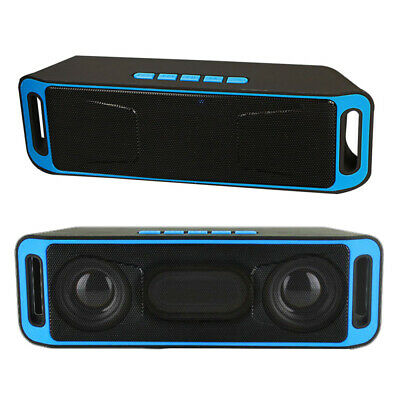 Mini altavoz inalámbrico 4.0 subwoofer USB radio FM estéreo reproductor de MP3