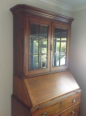 Gorgeous George 111 Bureau Bookcase Cabinet