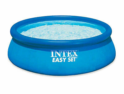 Intex Large Inflateable Swimming Pool Easy Set 10Ft Above Ground Garden Quality