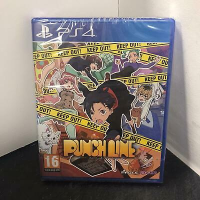 Punch Line PS4 Playstation 4 Game - New & Sealed