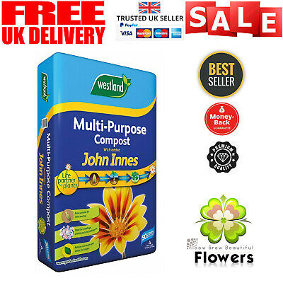 Westland 50L Multi-Purpose Compost with John Innes added NEW