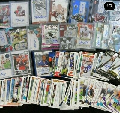 BEST NFL HOT PACK IN TOWN !!! 1 auto AND 1 jersey card guaranteed + 2ref 2pp 3rc