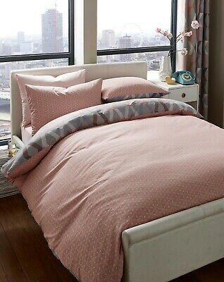 Ryley Blush King Size Quilt Cover Duvet Set Dreams And Drapes YS970 Reversible