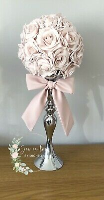 wedding centrepieces table decor Flower Ball And Bow Set