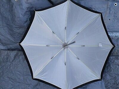Westcott 2012 32-Inch Optical White Satin with Removable Black Cover Umbrella