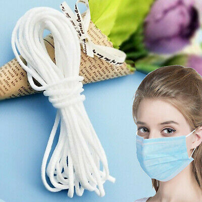 3mm Round Elastic Bungee Rope Stretchable Cord Shock String Dress Making Craft