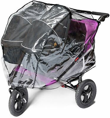 Outnabout OUT'N'ABOUT XL RAINCOVER DOUBLE- CARRYCOT Pushchair Accessory - BN
