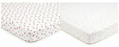 Breathable Baby SUPER DRY COT SHEETS 2 PACK - ENGLISH GARDEN