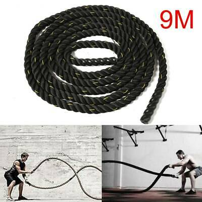 Battle Power Rope 50mm Battling Sport Bootcamp Gym Exercise Fitness Training