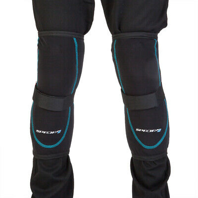 Spada Knee Protectors Pair Black Motorcycle Armour Guards Elasticated One Size