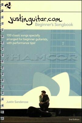 Justinguitar.com Beginner's Songbook 2nd Edition Spiral Bound SAME DAY DISPATCH