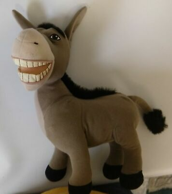 "Shrek talking Donkey Plush toy 12"" x 10"""