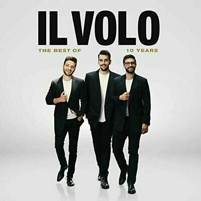 The Best Of IL Volo 10 Years *CD + DVD* 2 Discs 190759969823 FREE USA SHIPPING!