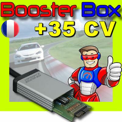 Boitier Additionnel CR1 pour TRAFIC II 1.9 DCI 74 kW 101 CV Chip Tuning Diesel