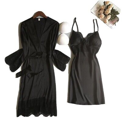 MotherDays Robe Set With Under Garment & Bra Pads  Robe Is Belted All Sizes Avai