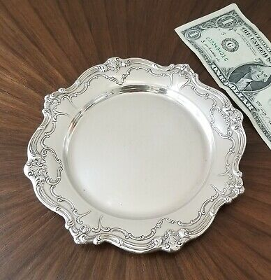 """GORHAM CHANTILLY Sterling Silver Bread/Butter Plate #738 - 6 1/4"""""""