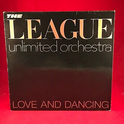 THE LEAGUE UNLIMITED ORCHESTRA Love & Dancing 1981 UK vinyl LP EXCELLENT HUMAN