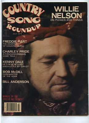 Country Song Roundup July 1978 Willie Nelson Freddie Hart Charley Pride MBX59