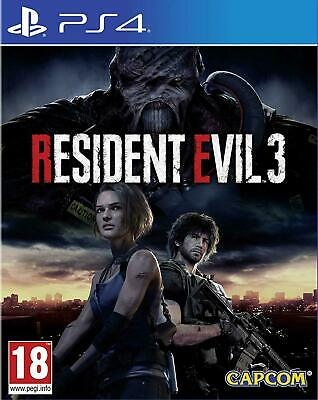 Resident Evil 3 Remake Ps4 Eu Nuovo Sigillato Ita Playstation 4 Re 3 Nemesis Uk