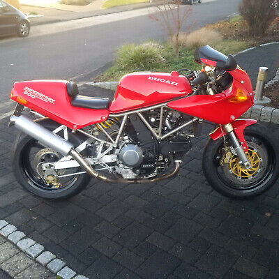 Ducati 900ss - große Inspektion - Youngtimer - TOP Zustand