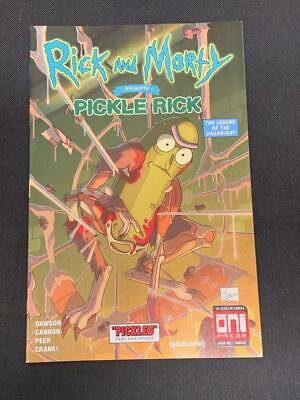 RICK AND MORTY #41 VARIANT MIKE VASQUEZ TALES OF SUSPENSE 39 HOMAGE 8//29 PRESALE