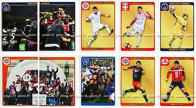 """ULTRA RARE !! EXTRA-STICKERS V1-V10 """"FRENCH FOOT 2011-2012"""" Panini UPDATE"""
