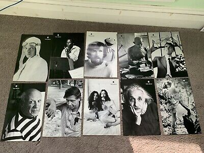 Authentic COMPLETE Set of 10 11x17 Think Different posters from Apple Computer