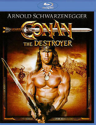 Conan the Destroyer BLU-RAY DVD LIKE NEW FAST SHIPPING