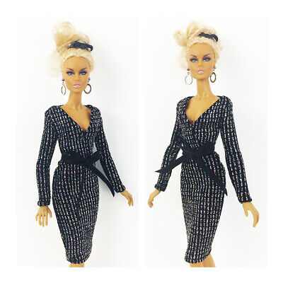Fashion Royalty Handmade Black Dress Integrity Toys Color Infusion Clothes