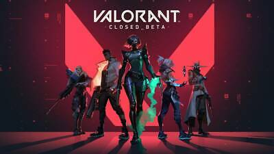 VALORANT closed Beta Account (EU/US) - Full Access to email! change pass