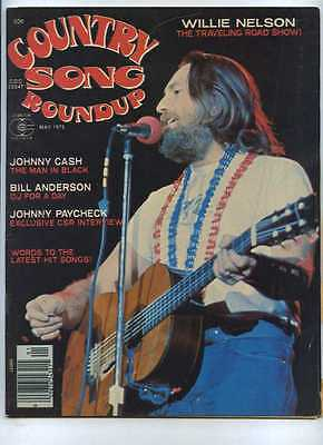 Country Song Roundup Roundup Willie Nelson Johnny Cash Johnny Paycheck MBX59