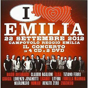 Italia Loves Emilia. Il Concerto -4Cd+2Dvd