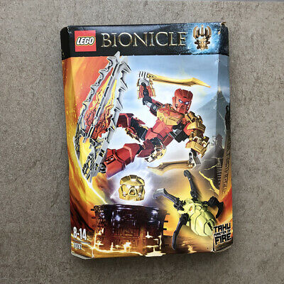 NEW//BOXED//SEALED LEGO BIONICLE TAHU MASTER OF FIRE 70787