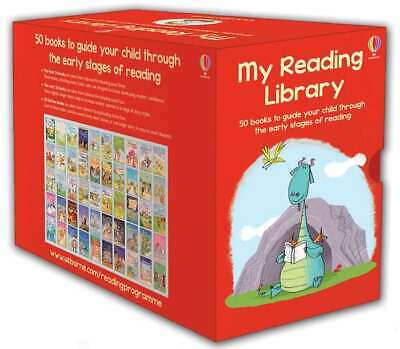 Usborne My Second Reading Library 50 Books Level 3 & 4 Children Set Paperback