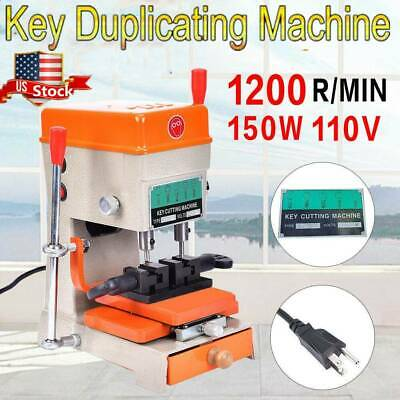 110V Key Duplicating Machine Key Guide Reproducer Reproducing Cutter Engrave