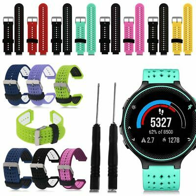 Sport Silicone Strap Bands For Garmin Forerunner 220/230/235/630/620/735XT Watch