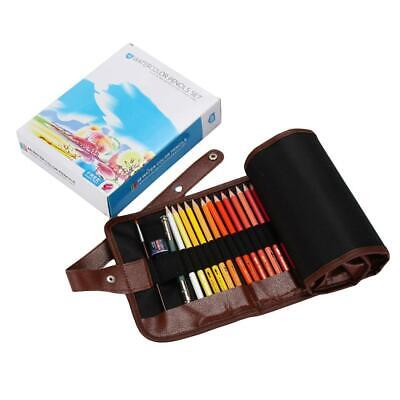 48Pcs Kids Adults Colored Pencils Set With Case Writing Drawing Tool P0D
