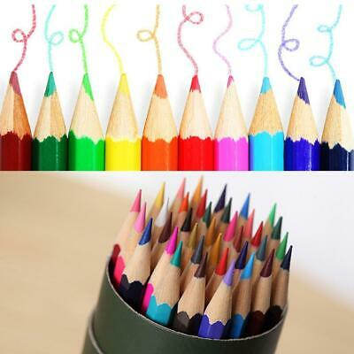Colored Pencil Set Painting Drawing Pencil Stationery Office School P0D