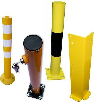Parking Bollards, Column Guards, Corner Guards, Pipe/cable Guards.