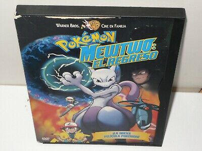pokemon - mewtwo el regreso  - dvd - anime