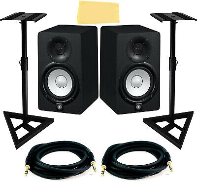 Yamaha HS5 5-Inch Powered Studio Monitor Pair w/ Stands