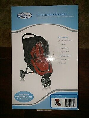 Baby Jogger Single Rain Canopy City Mini/City Mini GT