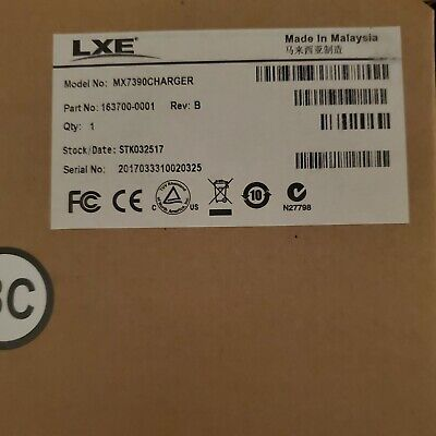 Honeywell/LXE MX-7T 4 Bay Battery charger, MX7390CHARGER, New In box