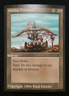 1994 Magic the Gathering MTG Middle Ages Sticker Card Manifest Destiny