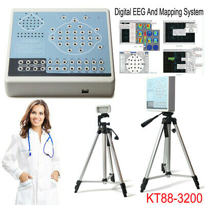 KT88-3200 Digital EEG Machine 32 Channel Brain electric Activity Mapping System