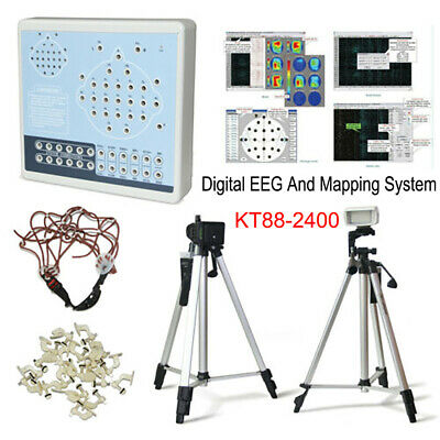 Digital EEG Machine 24 Channel Brain Electric Activity Mapping System KT88-2400