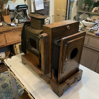 Antique Magic Lantern Projector The Abbeydale
