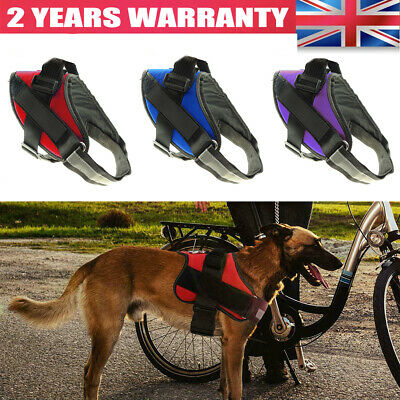 No-pull Dog Harness Outdoor Adventure Pet Vest Padded XS/S/M/L FOR Puppy Dog UK