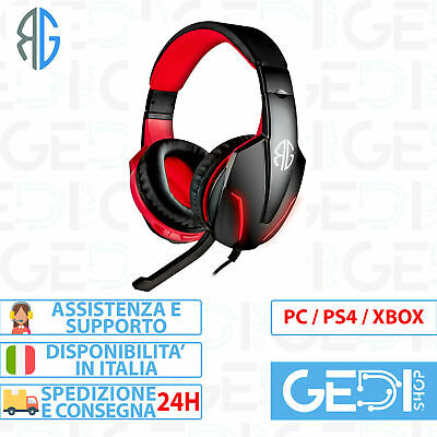 Cuffie Gaming con Microfono PS4 XBOX ONE SWITCH RG F1 PRO